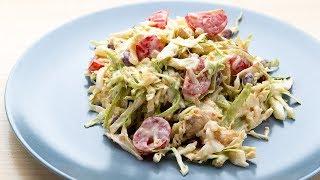 Вкусный, простой салат для праздничного стола или семейного ужина