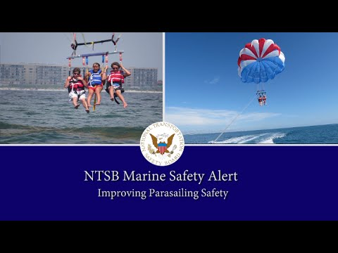 Marine Safety Alert: Parasailing Safety