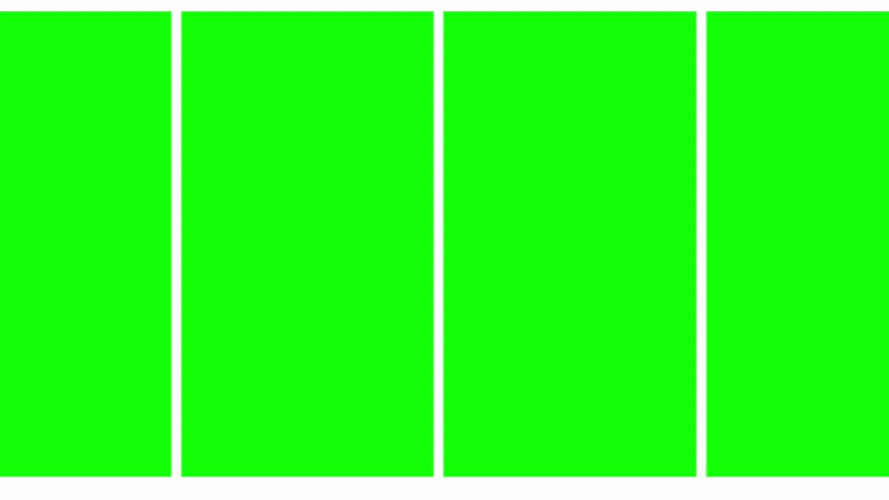 NEW Green Screen Transitions - YouTube