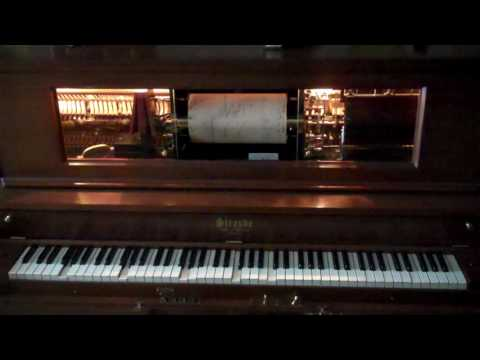 "1927 Straube Player Piano Plays ""Valencia"""