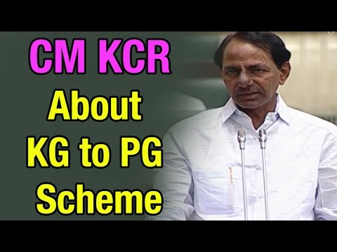 CM KCR Clarification On Implementation Of KG To PG Scheme - T Assembly Session (10-03-2015)