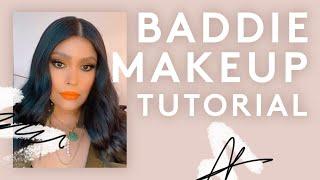 BADDIE MAKEUP TUTORIAL | FENTY BEAUTY