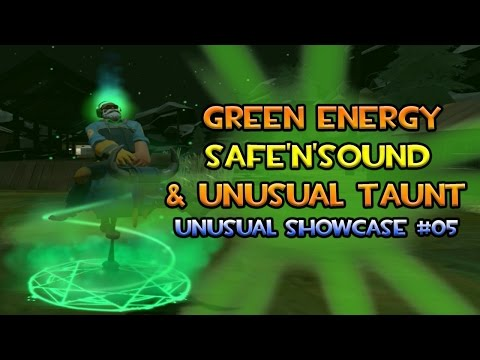 TF2 - Green Energy Safe'N'Sound | Unusual Hat Showcase #05