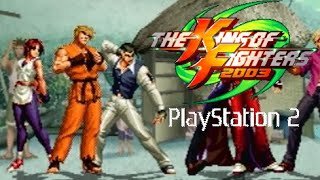 The King of Fighters 2003 playthrough (PS2)