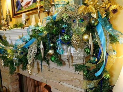 Diy Christmas Ornament Wreath Corona Navidena Youtube