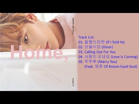 [Full Album] KANGTA – 'Home' Chapter 1 (1st Mini Album)