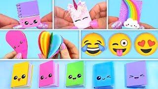 6 DIY Mini Notebooks ~ Back to School Supplies