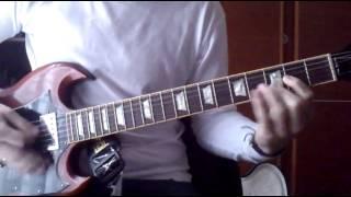 Cover No hay tregua (Barricada) 1ª Guitarra