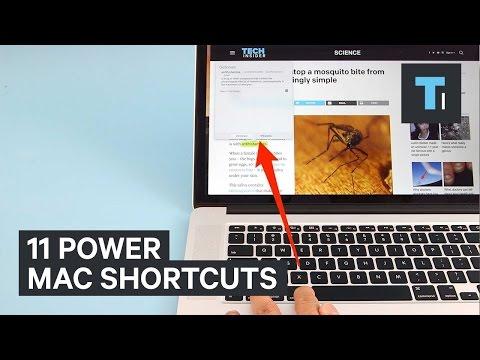 11 Power Mac shortcuts