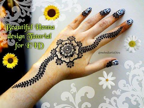 Easy Simple Mandala Gol Tikki Mehndi Designs For Hands Tutorial Eid