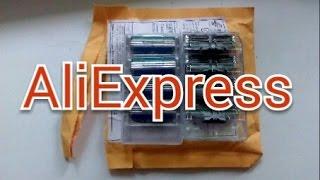Gillette Mach 3 Turbo.Обзор пакета с Aliexpress