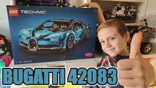 UNBOXING BUGATTI LEGO TECHNIC 42083