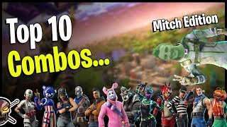 Top 10 Combos | Mitch's Favorites | Fortnite Cosmetics