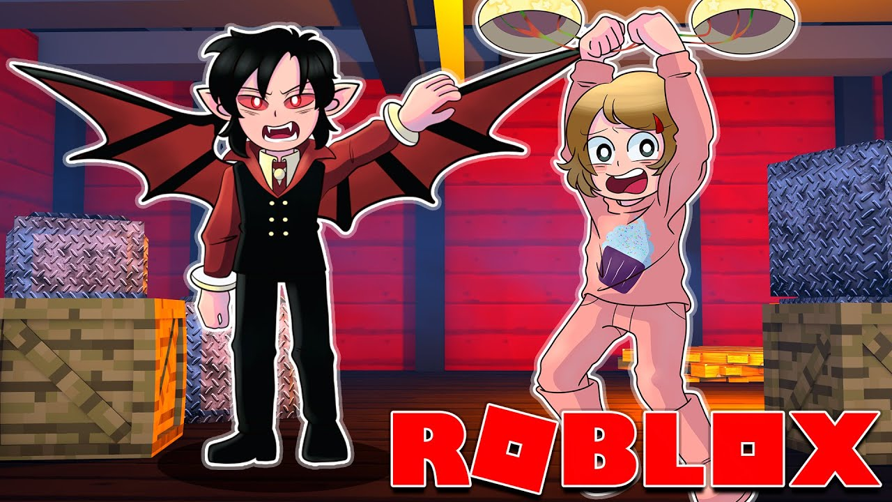 Roblox | Don't Let The Vampire Catch You!