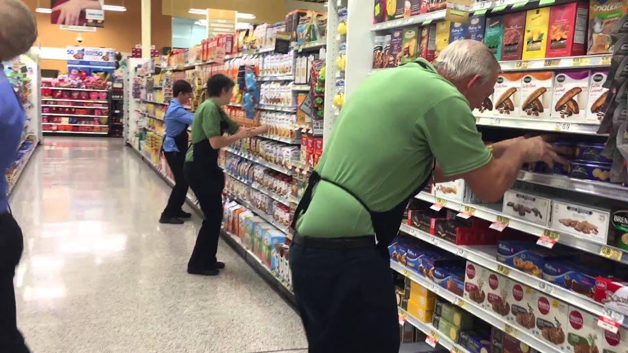 Grocery stocker