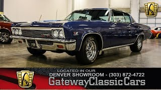 1966 Chevrolet Caprice #412 Denver - Gateway Classic Cars