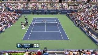 Andy Roddick Vs Fabio Fognini - US Open 2012 3rd Round (HD)