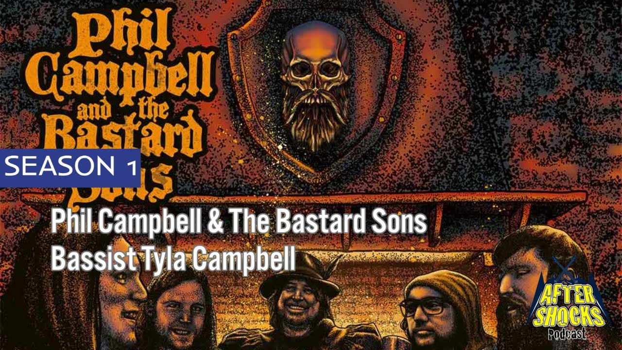 Phil Campbell   The Bastard Sons - WE'RE THE BASTARDS - Bassist Tyla Campbell