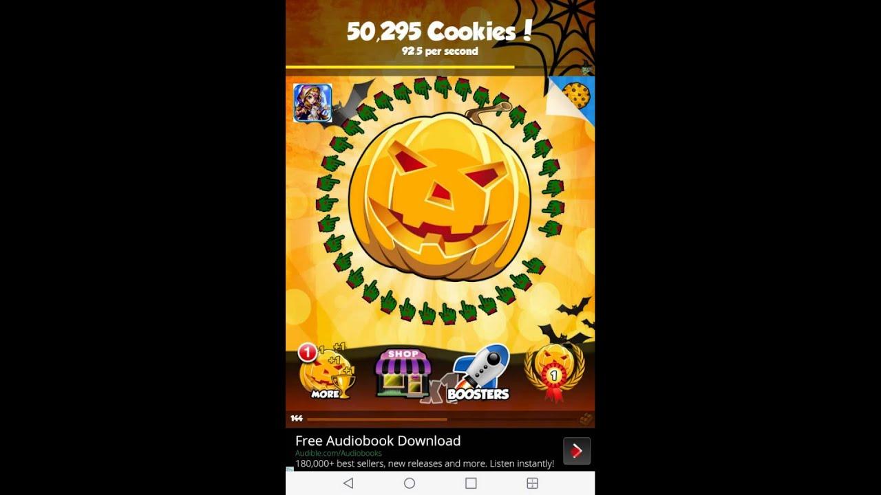 Cookie clicker (HALLOWEEN UPDADTE) - YouTube