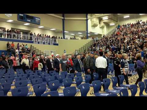 Lake Central High School Veterans Day Ceremony   November 9, 2017