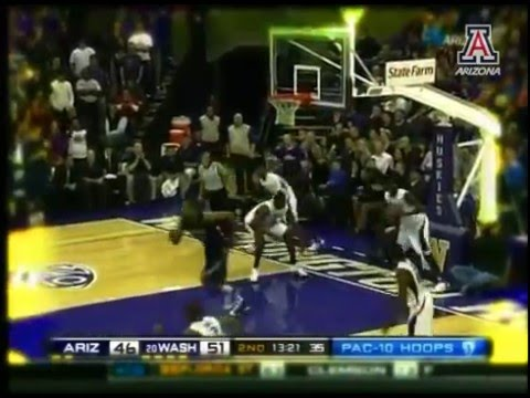 Derrick Williams 2011 Pac-10 Highlights by Arizona Athletics