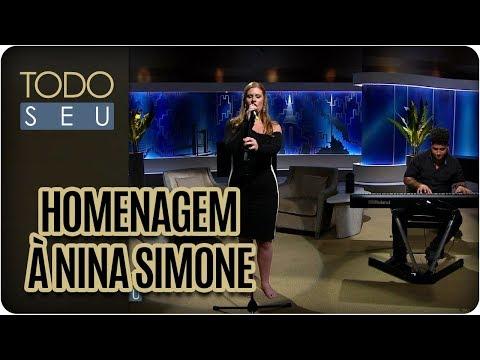 Musical Com Rachel Maia Em Homenagem à Nina Simone - Todo Seu (21/02/18)