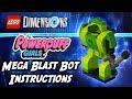 LEGO Powerpuff Girls Buttercup Mega Blast Bot Dimensions Build Instructions - BrickQueen