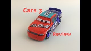 Cars 3 Todd Marcus (No Stall #123) Mattel Die-cast Review [HD]