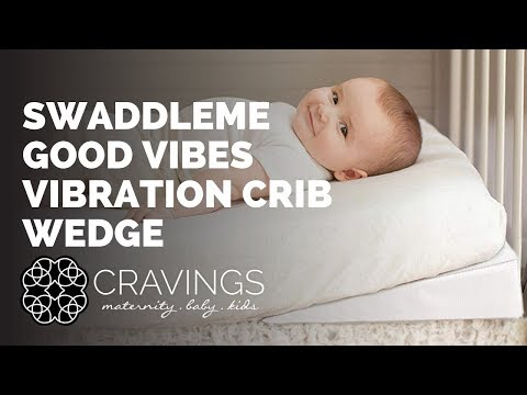 Good Vibes Vibrating Crib Wedge By Summer Infant By Cravings Youtube