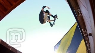Jeff King's Monster Skateboard Quarterpipe Through The Roof! Raw N' Real