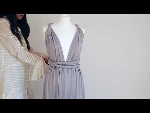 wiązania sukienki na kilkanaście sposobów