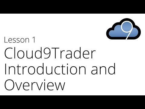 Cloud9Trader Algorithmic Trading Introduction and Overview