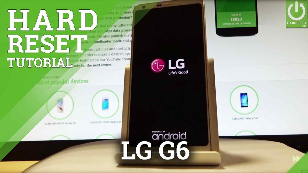 Hard Reset LG G6 H872 (T-Mobile) - HardReset info