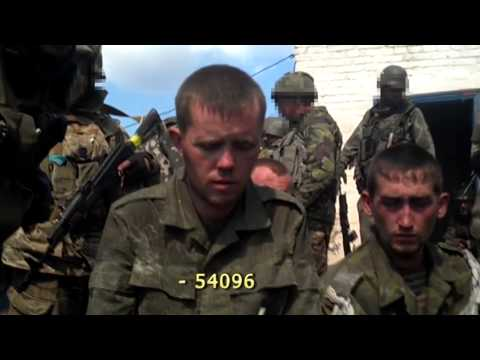 Soldiers of Russia, who took part in the fighting in eastern Ukraine