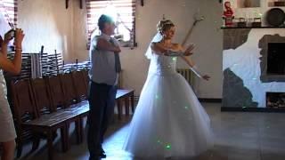 Прикольный первый танец молодых