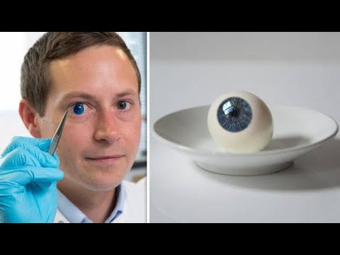 Scientists In The UK 3D Printed Human Corneas To Cure Blindness