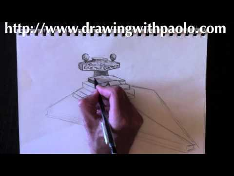 learn draw a star destroyer