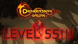 Drakensang Online : Level 55 at the first Day!!! :)