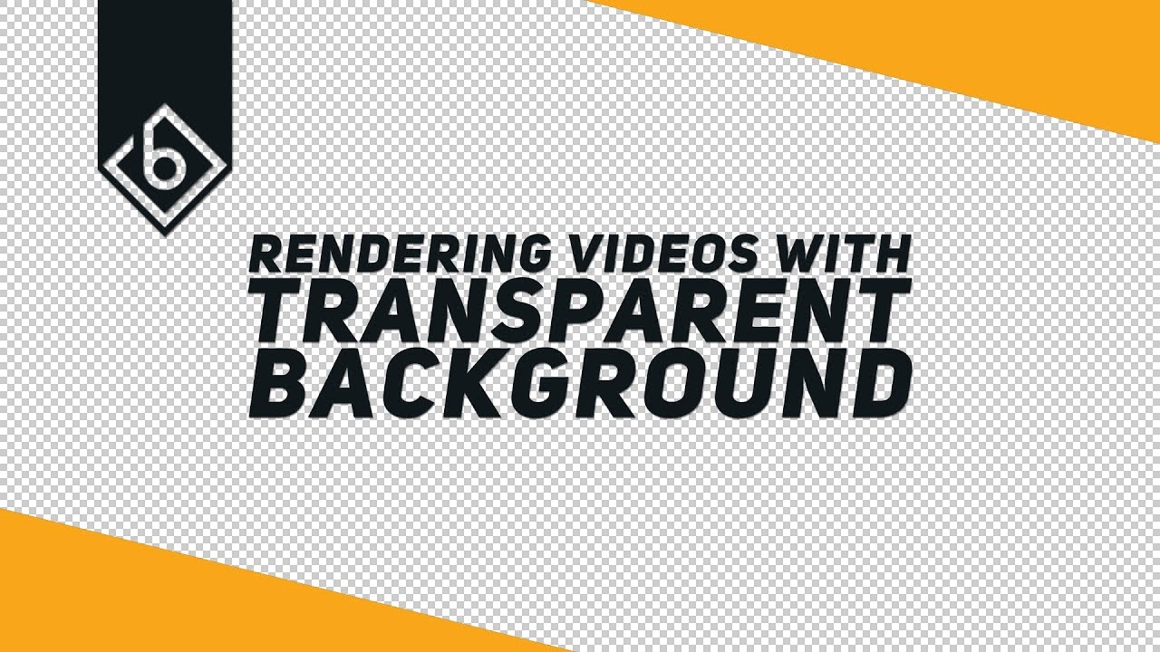 How To Render Videos With A Transparent Background - Sony Vegas Tutorial