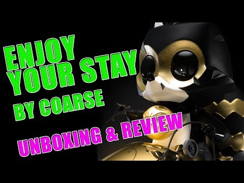 Coarse - Enjoy Your Stay Unboxing and Review