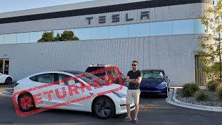 Why I Returned My SR+ Model 3 to Tesla...