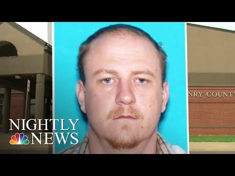 Manhunt In Missouri For Accused Police Killer | NBC Nightly News
