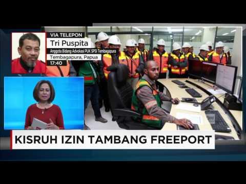 Kisruh Izin Tambang Freeport