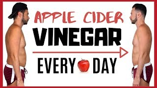 Gambar cover Guy Tries 🍎 APPLE CIDER VINEGAR EVERY DAY for 7 DAYS ⏳ Weight Loss Transformation