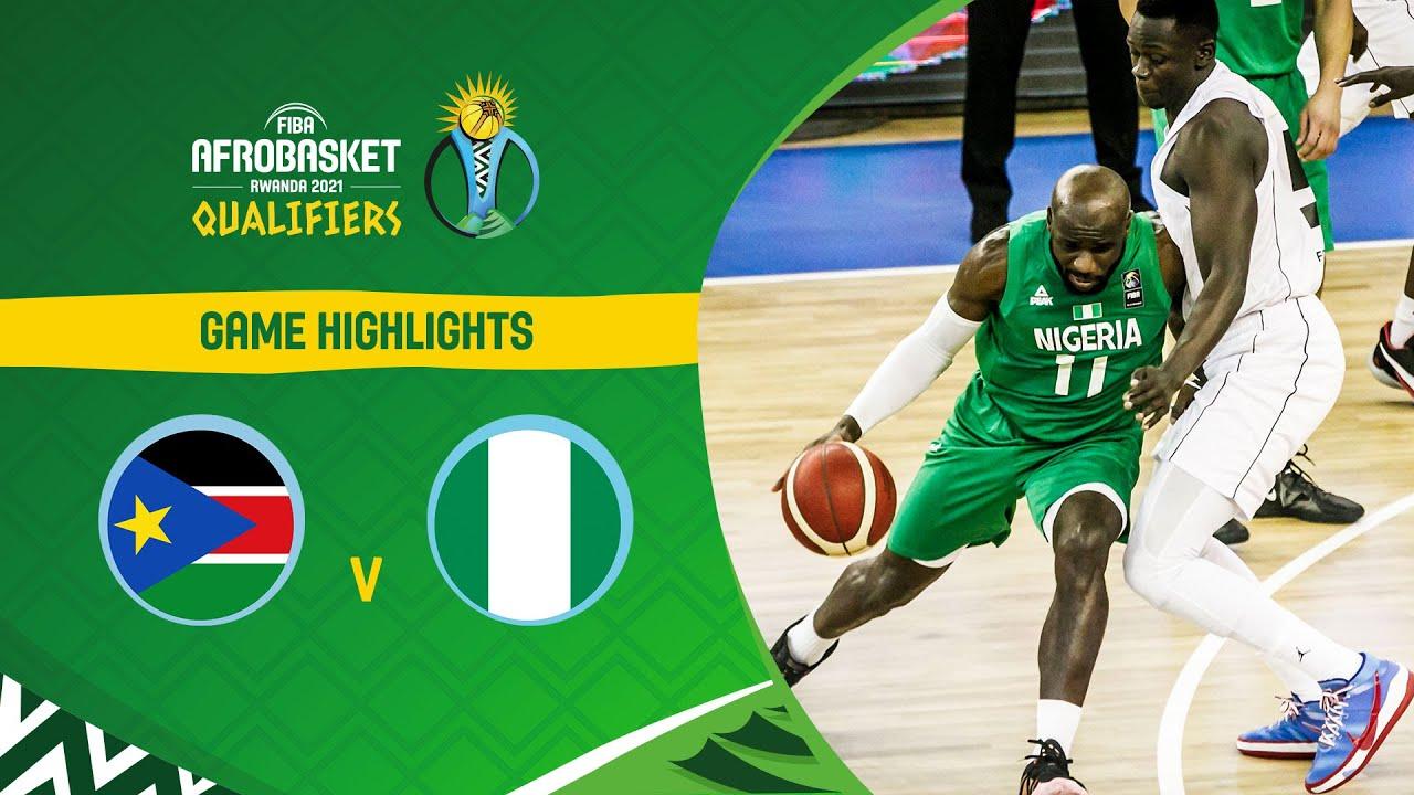 Download South Sudan - Nigeria | Highlights - FIBA AfroBasket 2021 Qualifiers