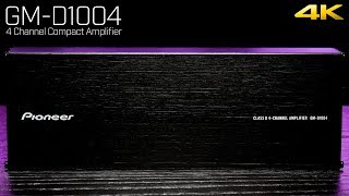 Pioneer GM-D1004 - Ultra Compact 4 Channel Amplifier - 400 Watts!