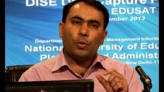 Discussion on DISE Data Capture Format: Shri Naveen Bhatia, Part II (English)