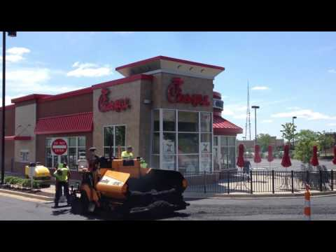 Advanced Asphalt - Commercial Paving Company in Cleveland, Ohio  Chick Fil A