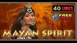 Mayan Spirit - Slot Machine - 40 Lines - Bonus Game - Big Wins
