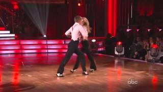 Julianne Hough and Derek Hough perform together  on Dancing with the Stars  2011